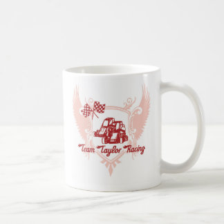 Team Taylor Racing Coffee Mug in Red
