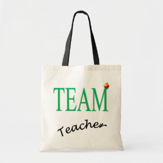 Team Teacher Tote Bag