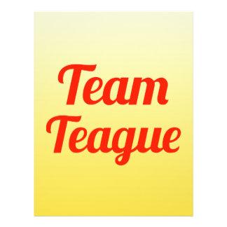 Team Teague Full Color Flyer