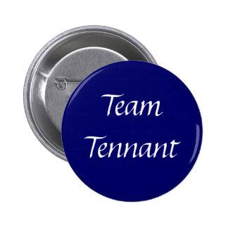 Team Tennant Button