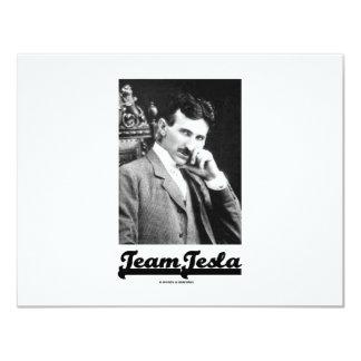 Team Tesla (Nikola Tesla) Card