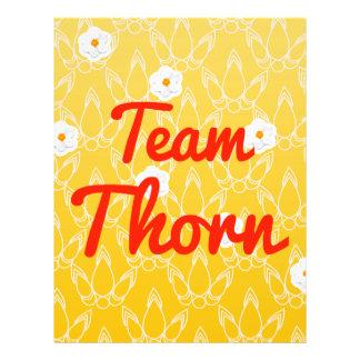 Team Thorn Custom Flyer