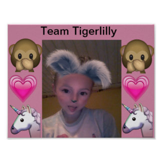 Team Tigerlilly poster