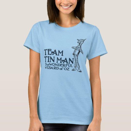 Team Tin Man, AKA Nick Chopper, The Tin Woodman T-Shirt