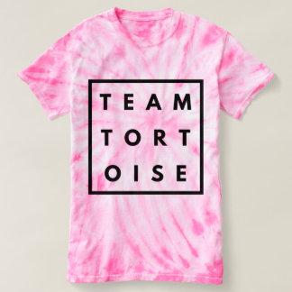 Team Tortoise Funny Tie Dye Tee