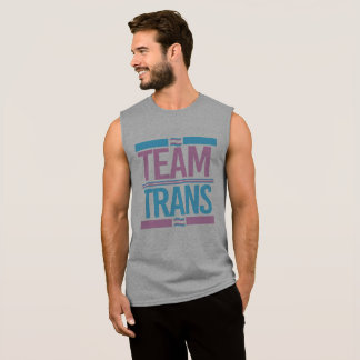Team Trans - Trans Pride - -  Sleeveless Shirt