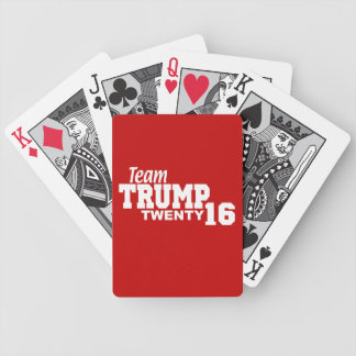 Team Trump For President 2016 Bicycle Playing Cards