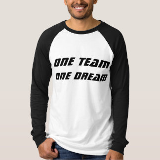 Team Tshirt with long sleeves