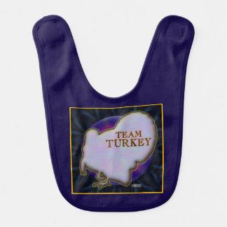 Team Turkey Bib