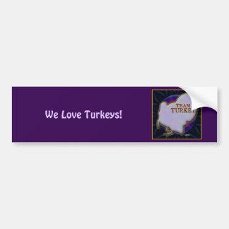 Team Turkey Bumper Sticker