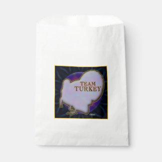 Team Turkey Favour Bag
