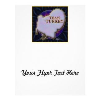 Team Turkey Full Colour Flyer