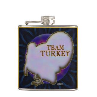 Team Turkey Hip Flask
