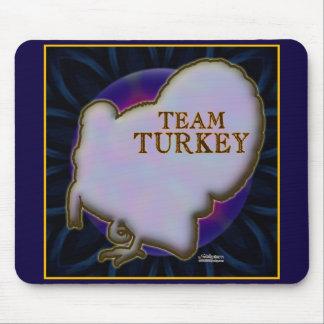 Team Turkey Mouse Pad