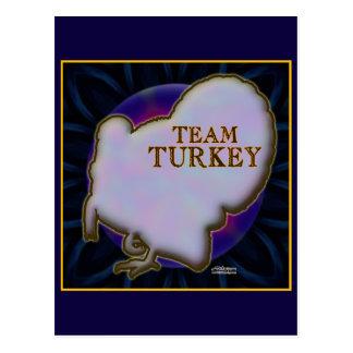Team Turkey Postcard