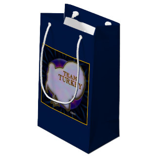 Team Turkey Small Gift Bag