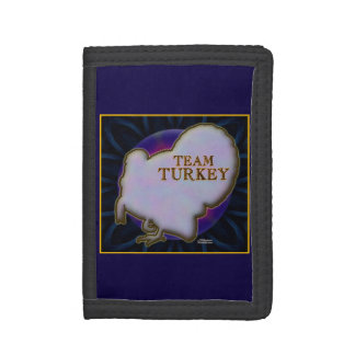 Team Turkey Tri-fold Wallets