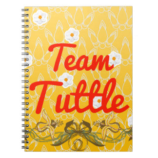 Team Tuttle Spiral Notebooks