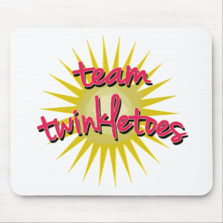 Team Twinkletoes with Starburst Mouse Pad