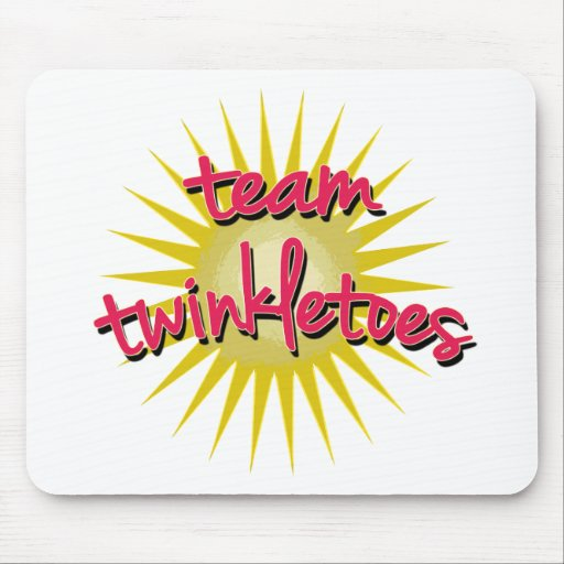 Team Twinkletoes with Starburst Mousepads