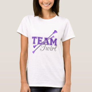 Team Twirl Baton T-Shirt