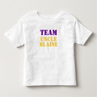 TEAM UNCLE BLAINE TODDLER T-SHIRT