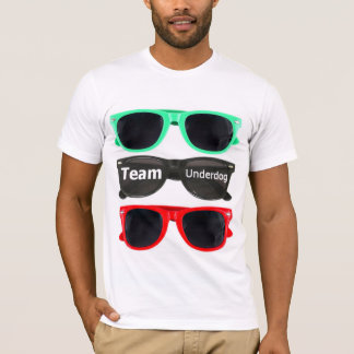 Team Underdog sunglass tee - White