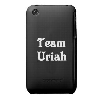 Team Uriah Case-Mate iPhone 3 Cases