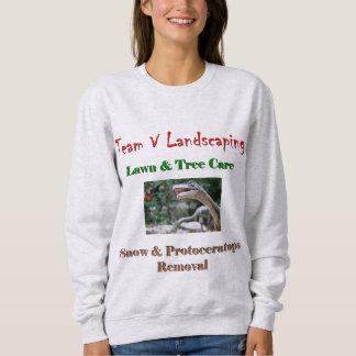 Team V Landscaping sweatshirt