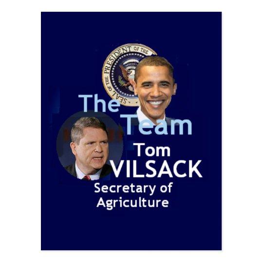 Team Vilsack Postcard