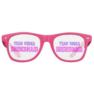 Team Vodka  bachelorette party Bridesmaid Retro Sunglasses