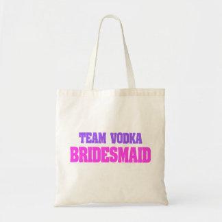 Team Vodka  bachelorette party Bridesmaid Tote Bag