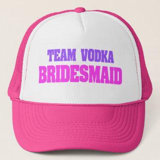 Team Vodka  bachelorette party Bridesmaid Trucker Hat
