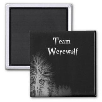 Team Werewolf Magnet