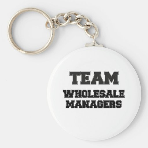 Team Wholesale Managers Keychains