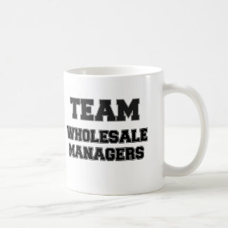 Team Wholesale Managers Coffee Mugs
