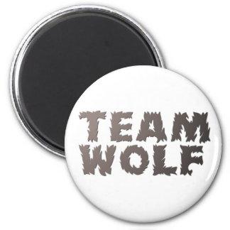 Team Wolf Magnet