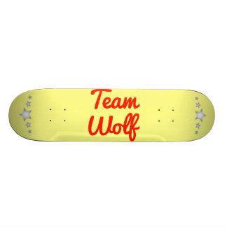 Team Wolf Custom Skate Board