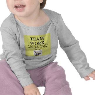 team work joke t-shirts