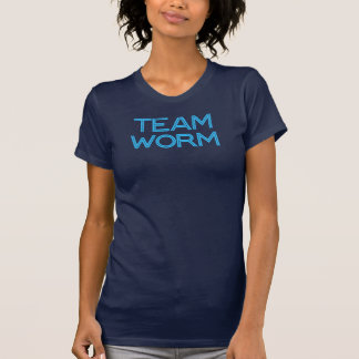 Team Worm Blue T-Shirt