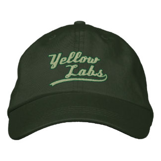 Team Yellow Lab Embroidered Baseball Cap