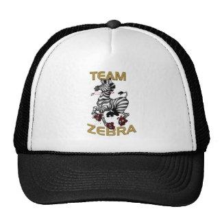 Team Zebra Cap Trucker Hat