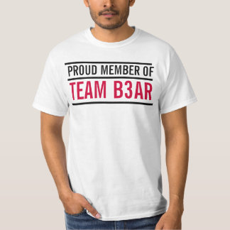 TEAMB3AR MEMBER VALUE SHIRT