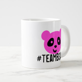 #teamb3ar Mug Pink and Blue
