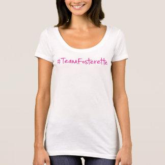 #TeamFosterette Scoop Neck T-Shirt w/bookaholic