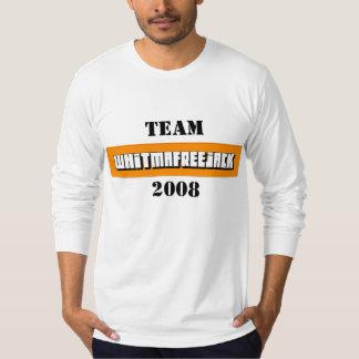 teamfreedmawhitjacklogo, Team, 2008 T-Shirt