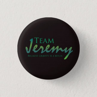 TeamJeremy 1 Inch Round Button