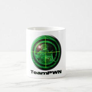 teamPWNgreenmug Basic White Mug