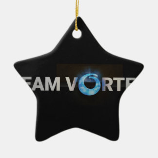 TeamVortex Ceramic Ornament