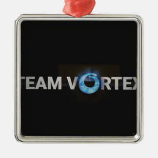 TeamVortex Metal Ornament